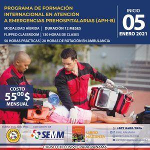 Atencion Prehospitalaria Basica @ Modalidad Hibrida, semi presencial
